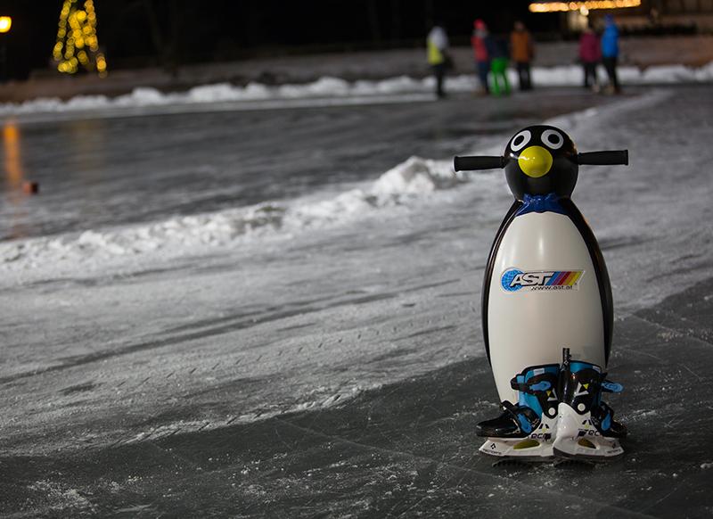 Eislaufen in Serfaus-Fiss-Ladis