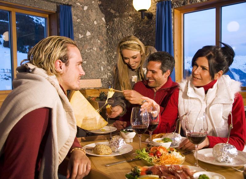 Rodel- und Fondueabend in Serfaus-Fiss-Ladis