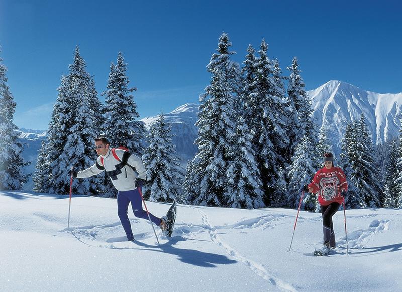 Schneeschuhwandern in Serfaus-Fiss-Ladis