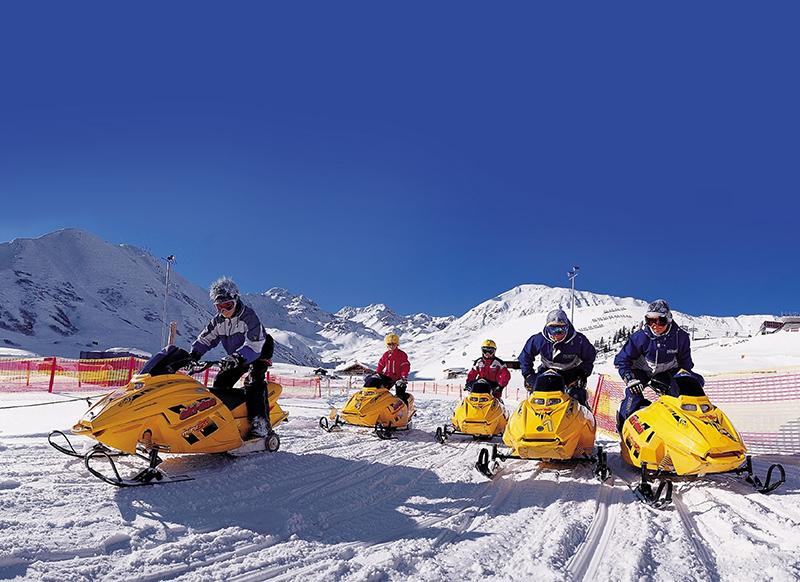 Ski-doo in Serfaus-Fiss-Ladis
