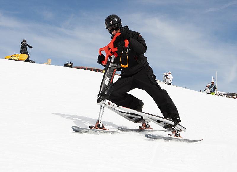Snowbike in Serfaus-Fiss-Ladis